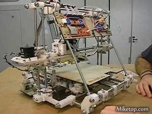 Pizza Drucker Printer 3D Miketop