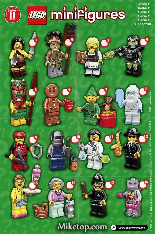 Lego Minifiguren Minifigures Serie Series 11 Miketop