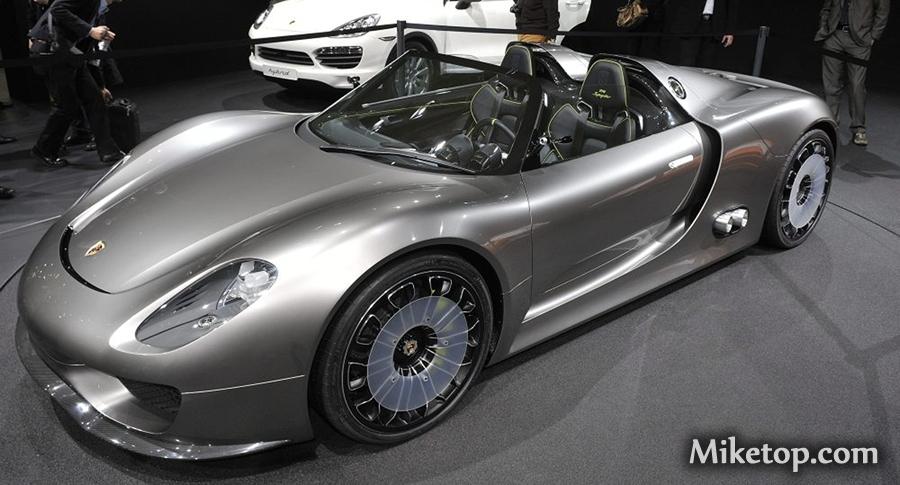 Porsche Super-Spyder Hybrid Miketop