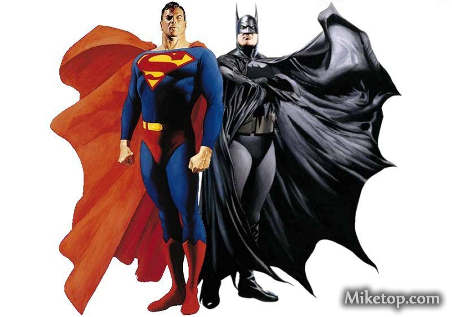 Batman Superman Movie Film Heroes Miketop