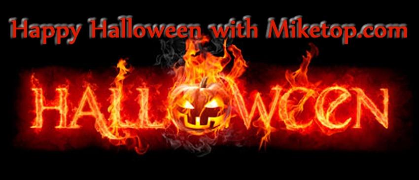 Halloween Happy Pumpkin Kuerbis Miketop