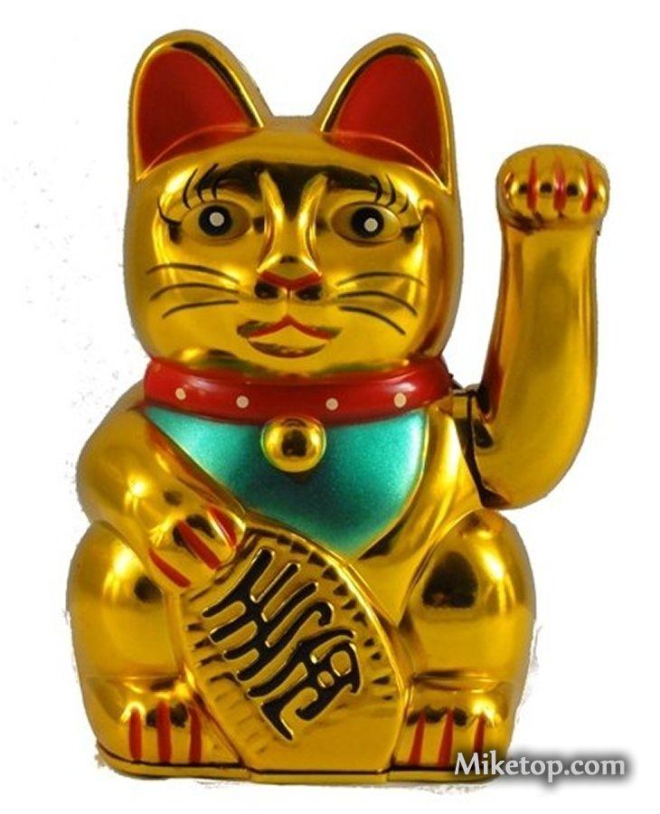 Winkekatze Lucky Cat Miketop