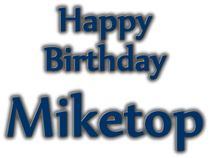 Happy Birthday Annyversary Miketop