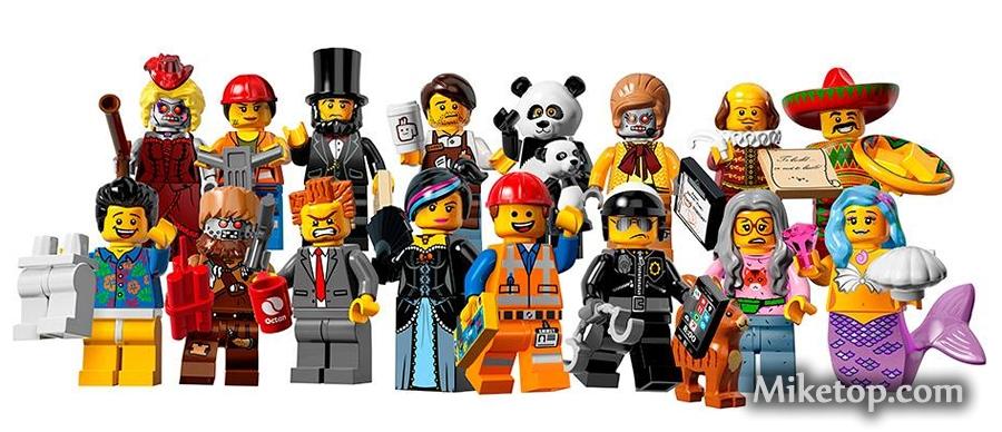 Lego Minifigures Series 12 Minifiguren Serie 12 Miketop