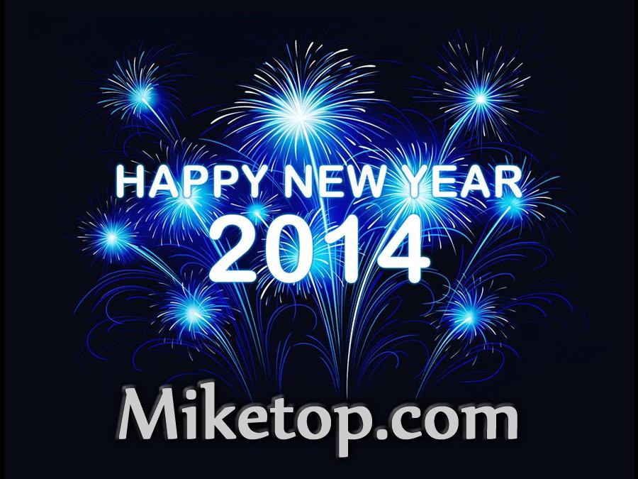 happy new year neujahr 2014 miketop