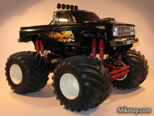 Clodbuster Clod Buster Tamiya Mafia Staff Car Evil Monstertruck Miketop 01