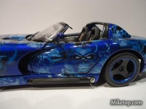 Viper Skull Skulls Scary Dodge Blue Venom Miketop 04