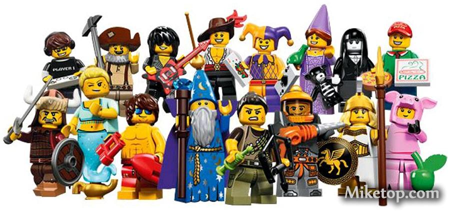 Lego Minifiguren Serie 14 Miketop